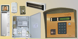 432R-430 MULTI-APARTMENT VIDEO DOORPHONE SET