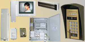 343R-460-12 MULTI-APARTMENT VIDEO DOORPHONE SET